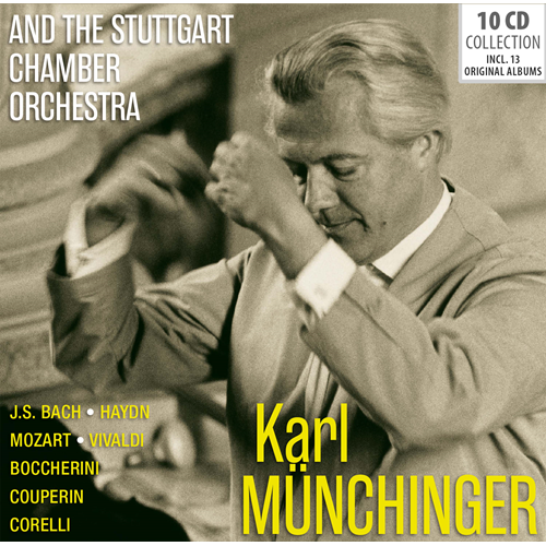 And The Stuttgart Chamber Orchestra (10CD)
