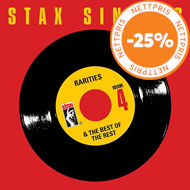 Produktbilde for Stax Singles Vol. 4: Rarities & The Best Of The Rest (USA-import) (6CD)