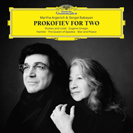 Martha Argerich & Sergei Babayan - Prokofiev For Two (CD)