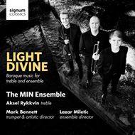 Produktbilde for Aksel Rykkvin - Light Divine (CD)