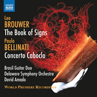 Brouwer: The Book Of Signs, Bellinati: Concerto Caboclo (CD)