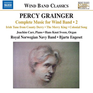 Grainger: Complete Music For Wind Band, Vol. 2 (CD)