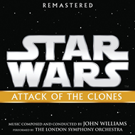Produktbilde for Star Wars: Attack Of The Clones (Remastered) (CD)