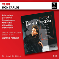 Produktbilde for Verdi: Don Carlos (3CD)
