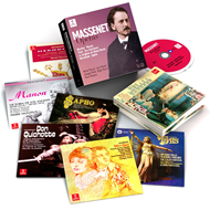 Produktbilde for Massenet - Operas (16CD)