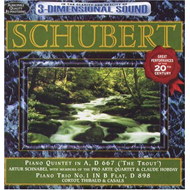 Schubert: Trout Quintet & Piano (CD)