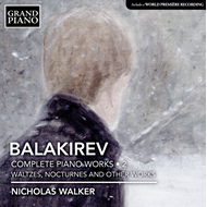Produktbilde for Nicholas Walker - Balakirev: Complete Piano Works Vol. 2 (CD)