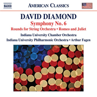 Diamond: Symphony No. 6;Rounds;Romeo And Juliet (CD)