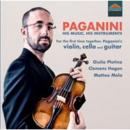 Produktbilde for Paganini, His Music, His Instruments (CD)