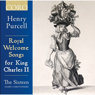 Purcell: Royal Welcome Songs For King Charles II (CD)