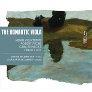 The Romantic Viola (CD)