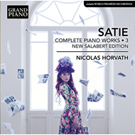 Produktbilde for Satie: Complete Piano Works, Vol. 3 (CD)