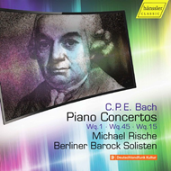 CPE Bach: Piano Concertos, Vol. 5 (CD)