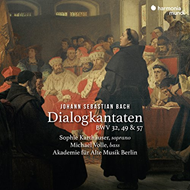 Produktbilde for Dialogkantaten BWV32, 49  57 (CD)