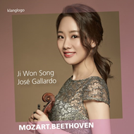 Produktbilde for Ji Won Song Plays Mozart  Beethoven (CD)
