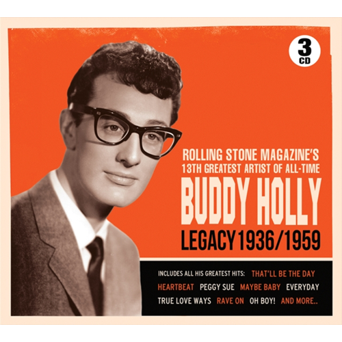 Buddy Holly Legacy 1936/1959 (3CD)