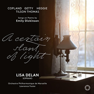 Produktbilde for A Certain Slant Of Light: Songs On Poems By Emily Dickinson (SACD Hybrid)