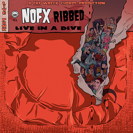 Ribbed - Live In A Dive (CD)