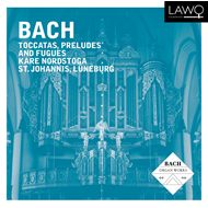Produktbilde for Kåre Nordstoga - Bach: Toccatas, Preludes And Fugues (CD)