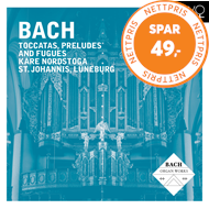 Kåre Nordstoga - Bach: Toccatas, Preludes And Fugues (CD)