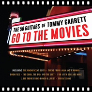 The 50 Guitars Of Tommy Garrett Go To The Movies (CD)