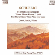 Jenö Jandó - Schubert: Moments Musicaux (CD)