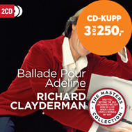 Produktbilde for Ballade Pour Adeline - The Masters Collection (2CD)
