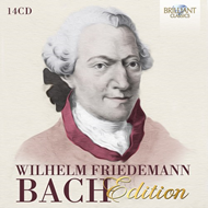 Produktbilde for Wilhelm Friedemann Bach Edition (14 CD) (14CD)