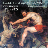 Handel's Finest Arias For Base Voice, Vol. 2 (CD)