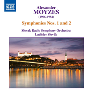 Produktbilde for Moyzes: Symphonies Nos. 1 And 2 (CD)