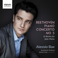 Beethoven: Piano Concerto No. 5  Works For Solo Piano (CD)