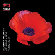 Vaughan Williams: Mass In G Minor (CD)