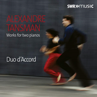 Produktbilde for Tansman: Works For Two Pianos (CD)