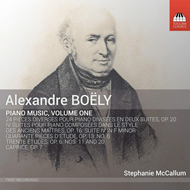 Boëly: Piano Music, Vol. 1 (CD)