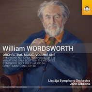Wordsworth: Orchestral Music, Vol. 1 (CD)