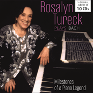 Produktbilde for Rosalyn Tureck - Milestones Of A Piano Legend (10CD)