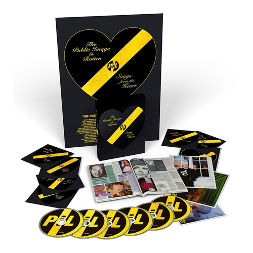The Public Image Is Rotten (Songs From The Heart) Box Set (5CD + 2DVD)