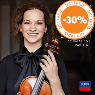 Produktbilde for Hilary Hahn Plays Bach: The Sonatas 1 & 2 / Partita 1 (CD)