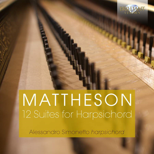 Mattheson: 12 Suites For Harpsichord (2CD)