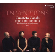 Beethoven: Inventions. Complete String Quartets, Vol. 1 (3CD)
