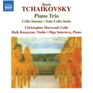 Produktbilde for B. Tchaikovsky: Piano Trio;Cello Sonatas;Solo Cello Suite (CD)