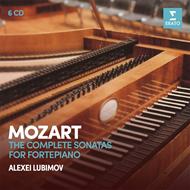 Alexi Lubimov - Mozart: The Complete Sonatas For Fortepiano (6CD)