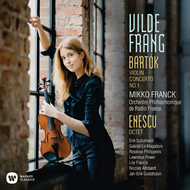 Vilde Frang - Bartok: Violin Concerto No. 1, Enescu: Octet For Strings (CD)
