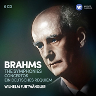 Produktbilde for Brahms: The Symphonies, Concertos, Ein Deutsches Requiem (6CD)