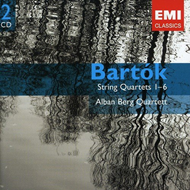 Bartok: String Quartets 1-6 (2CD)