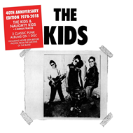 Produktbilde for The Kids / Naughty Kids (40th Anniversary Edition) (CD)