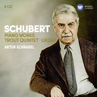 Artur Schnabel - Schubert: Piano Works, Trout Quintet, Lieder (5CD)