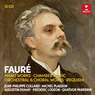 Fauré: Piano Works, Chamber Music, Orchestral & Choral Works, Requiem (12CD)