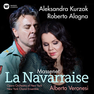 Produktbilde for Massenet: La Navarraise (CD)