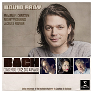 David Fray - Bach: Concertos For 2, 3 And 4 (CD)